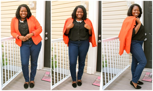 Shoes, DSW | Jeans, Forever 21 | Top, Old Navy | Necklace, H&M | Blazer, Forever 21